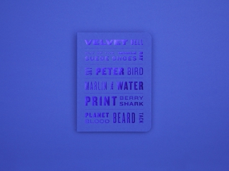 The Colour of Things Notebook – Blue