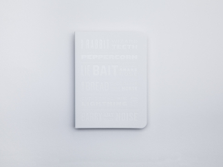 The Colour of Things Notebook – White